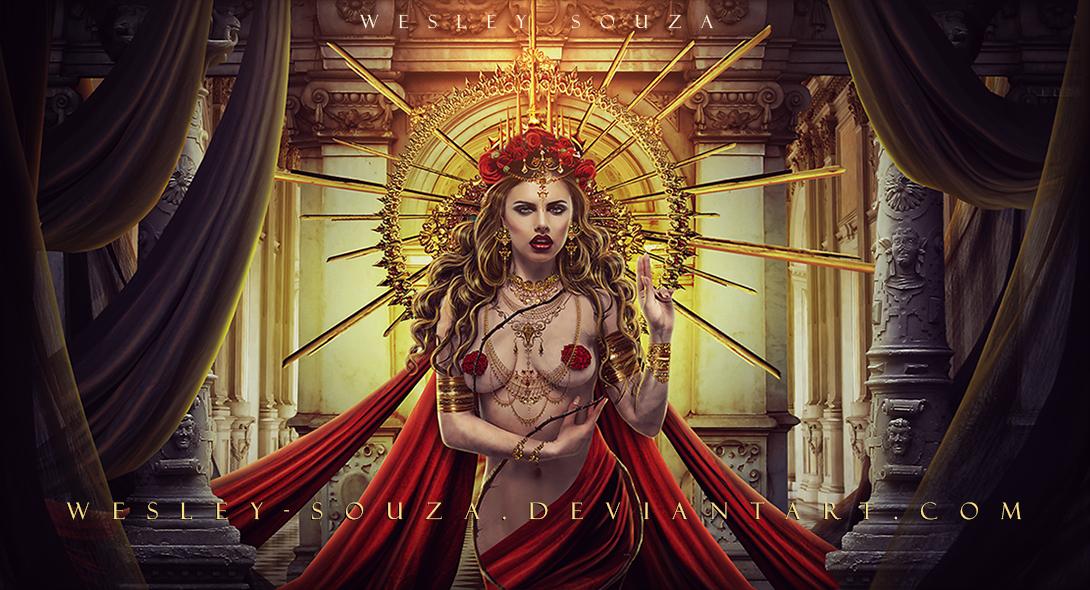 The Majestic Goddess by Wesley-Souza