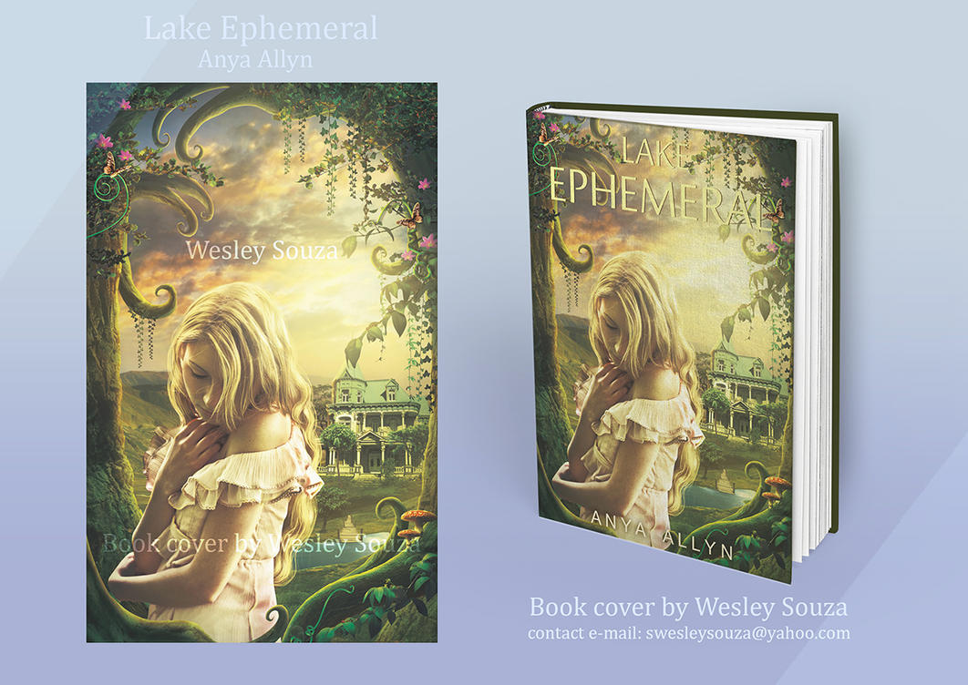 Lake Ephemeral - Book cover by Wesley-Souza