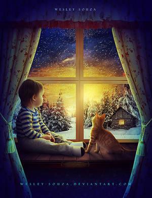 Waiting for Christmas - Secret Santa by Wesley-Souza