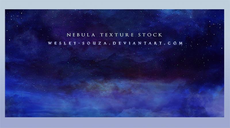 Nebula Texture Stock