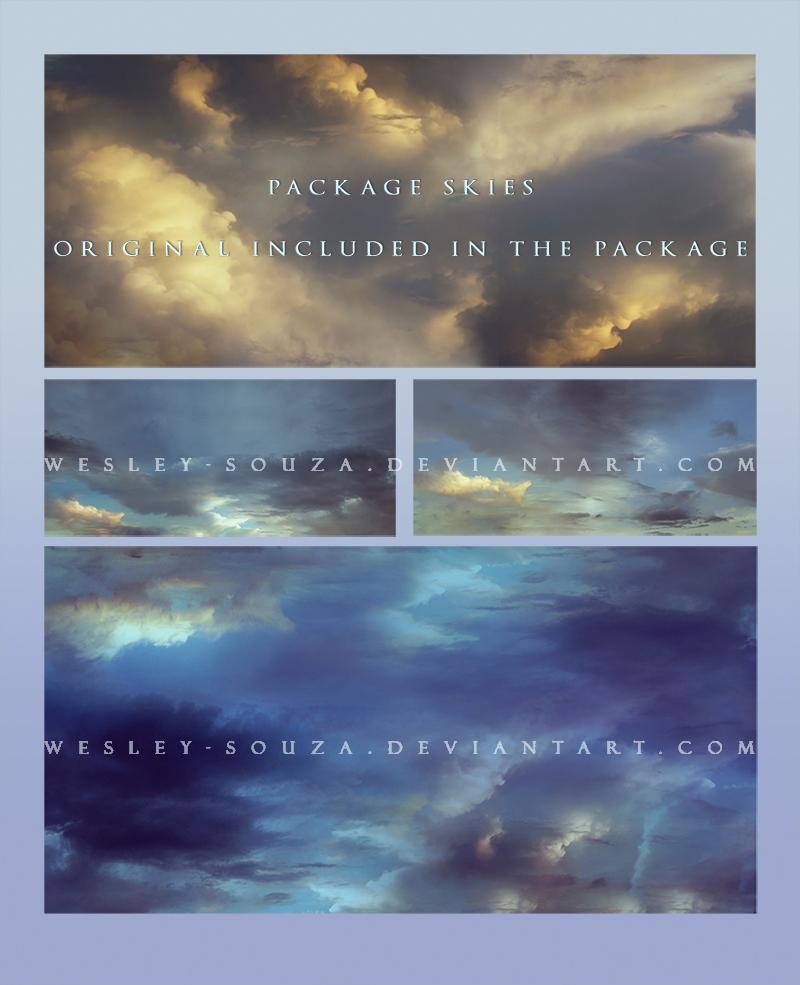 Package Skies 3 by Wesley-Souza