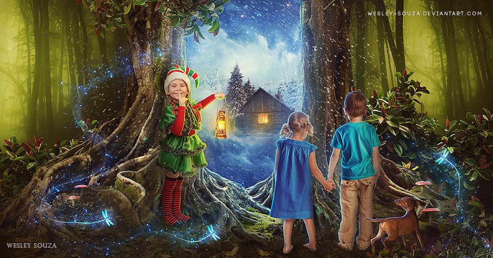 A Magia nos Espera by Wesley-Souza