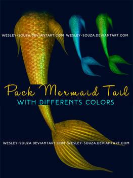 Pack Mermaid Tail