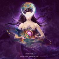 Goddess of Life by Wesley-Souza