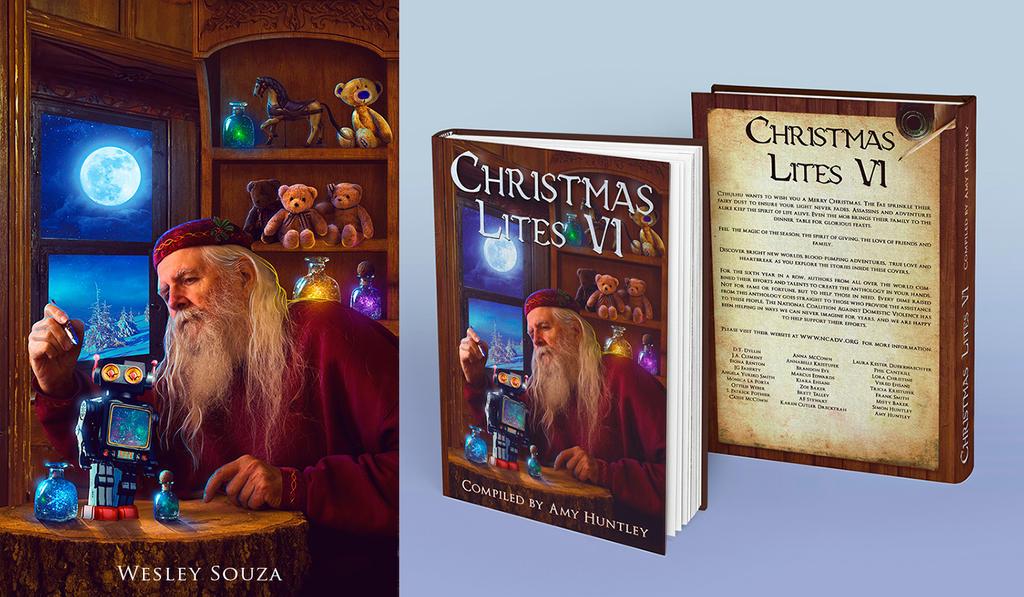 christmas lites book cover by wesley souza - Christmas Lites