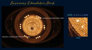 Luxurious Chandelier Stock