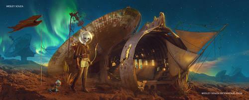 Um lugar para reconstruir by Wesley-Souza
