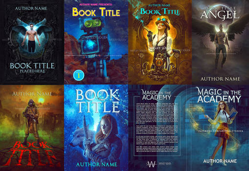 Book covers available for sale