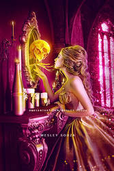 Dear mirror - AMA Pink and Yellow Challenge by Wesley-Souza