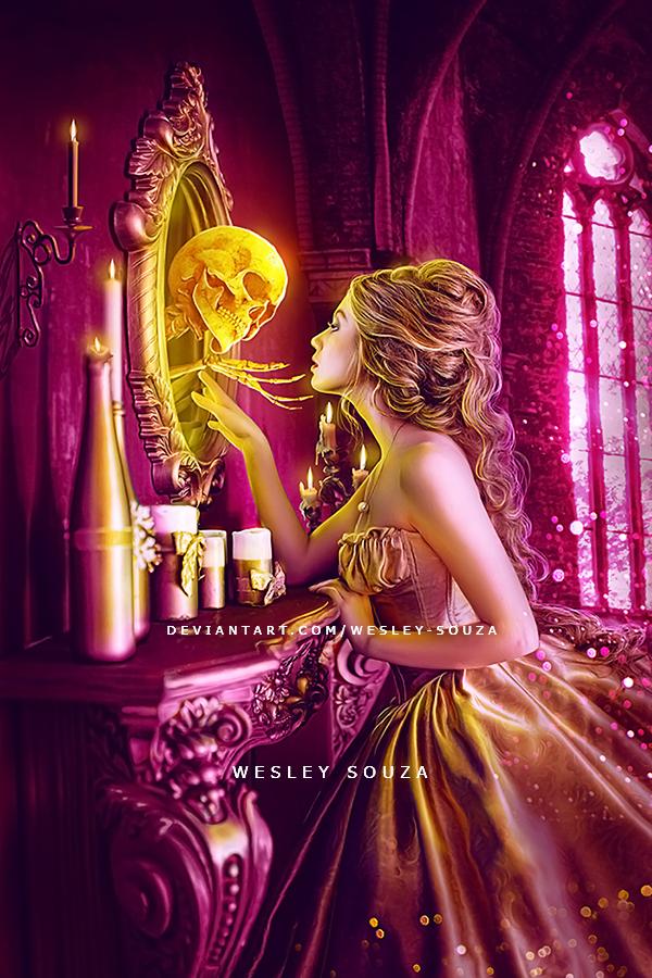 Dear mirror, you show my true face by Wesley-Souza
