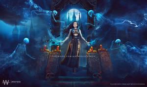 Iluminada - Dark Fantasy artwork for Book Cover