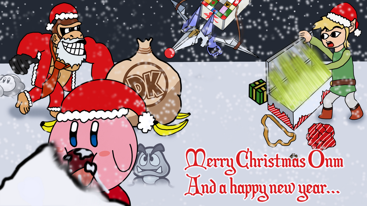Calendar Wallpaper Nintendo : Christmas nintendo wallpaper by tjhiphop on deviantart