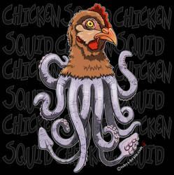 Chicken-Squid or Squid-Chicken?