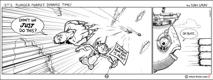 It's Plunger Monkey Dynamo Time! #50