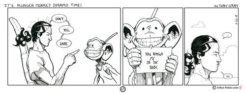 It's Plunger Monkey Dynamo Time! #63