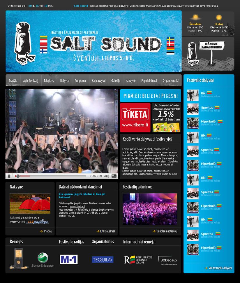 Saltsound Music Festival by Igorka