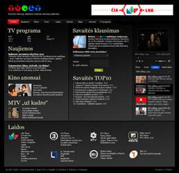 Redesign of TV.lt by Igorka