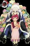 Render #4: Yona and Shin-Ah (Akatsuki no Yona)