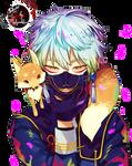 Render #11: Nakigitsune (Touken Ranbu)