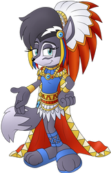 Grand chief lupe wolf .:collab:. by Legend-Star