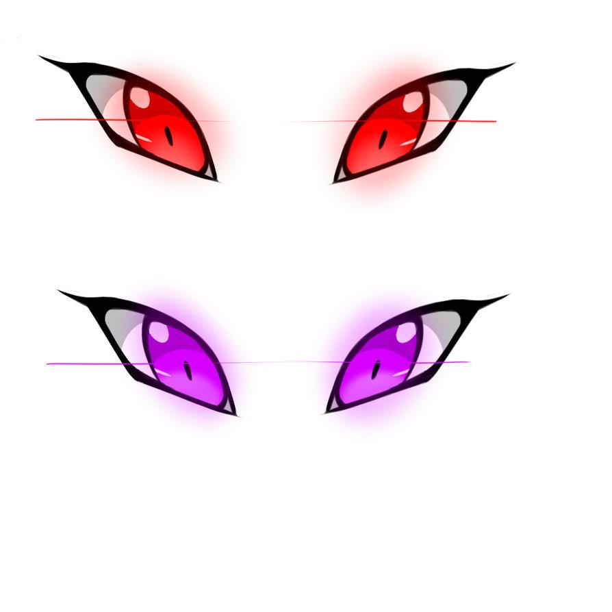 Glowing Eyes by Sh4rk-K1ng