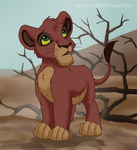 Little Kovu (my design)