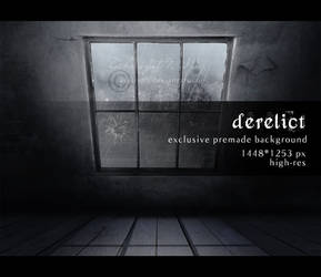 derelict: premade background by Avallynh