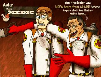 Anton Meets the Medic by Internet-Ninja