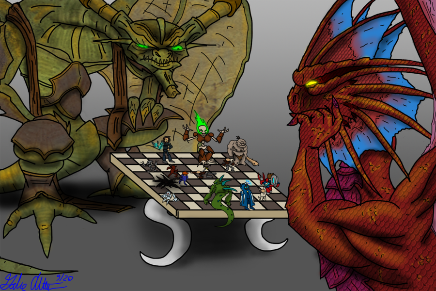Elder Dragon Chess by Internet-Ninja
