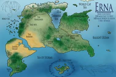 Erna Land Map by Internet-Ninja