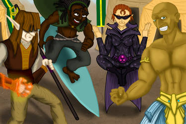 War Mages of Gastonia by Internet-Ninja
