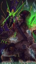 Nagash vs Mega-Gargant