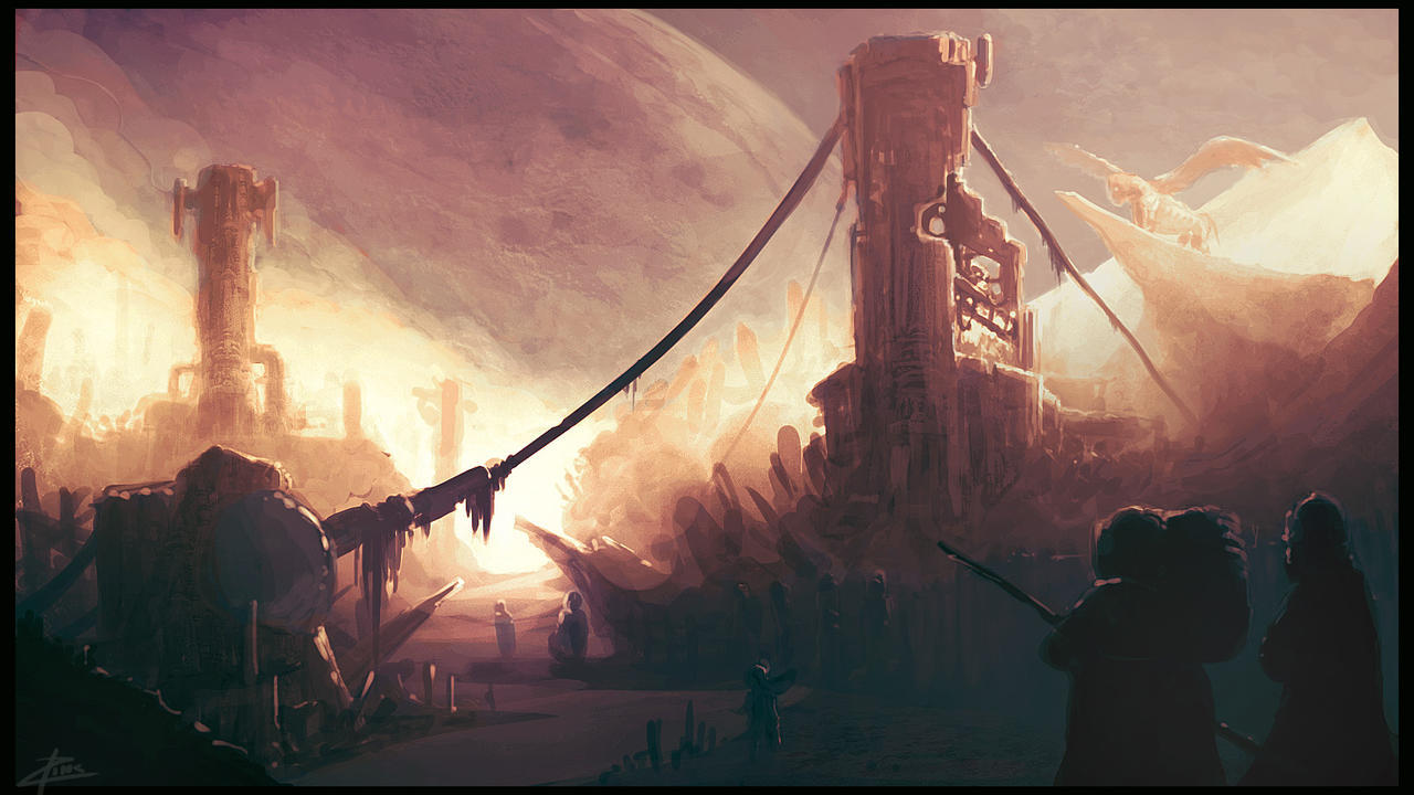 Another alien environment... by Morporg