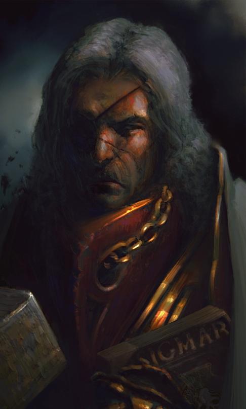 Sigmar knight by Morporg