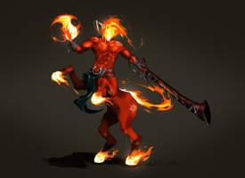 Four Horsemen of Apocalypse - War by Arturbs
