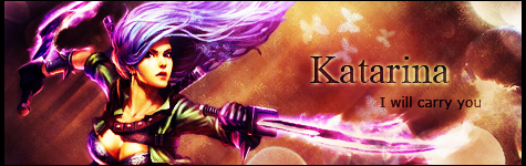 Signature Katarina - League of Legends by Ellanna-Graph