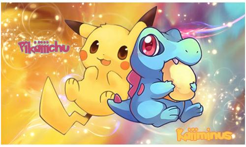 Signature Pokemon Kawaii