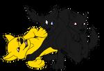 Black Wolf Pups