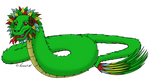 Feathered Dragons - Quetzalcoatl by horse14t