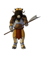 Commish: Ox Barbarian by horse14t