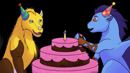 Commish: Birthday Cake!