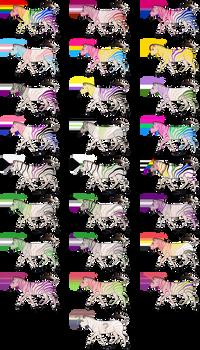 Pride Zebra Adopts {108/108 Open}