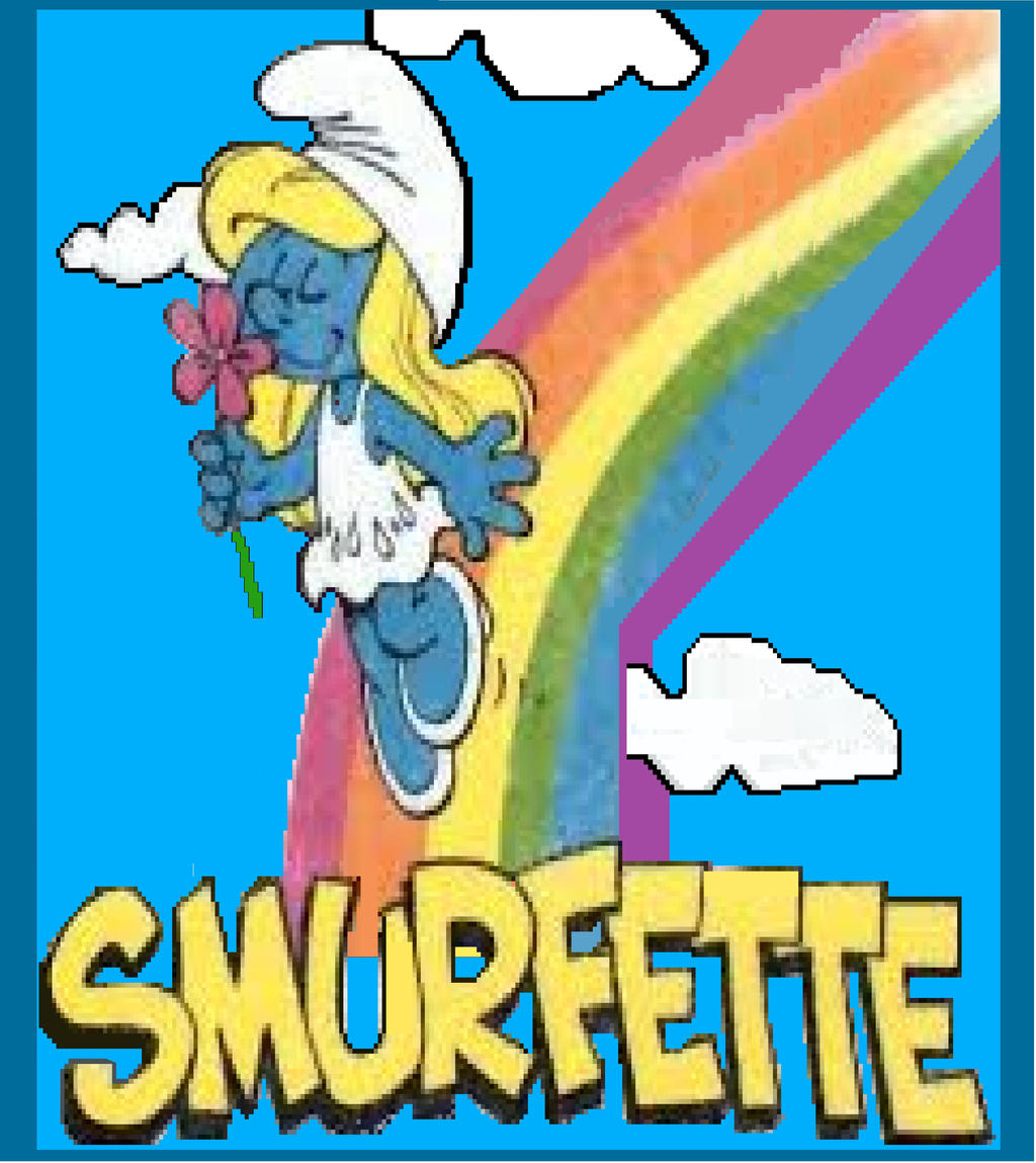 SMURFETTE !!! by carl-88