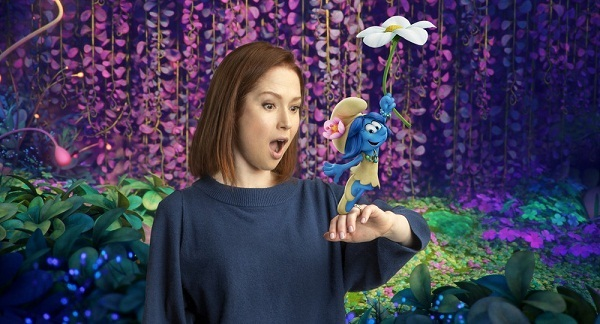 ELLIE KEMPER and SMURF BLOSSOM !!! by SmurfyCarl-42