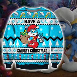 MY SILLY SMURFY CHRISTMAS SWEATER by SmurfyCarl-42