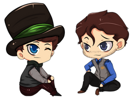 ouat: Jefferson and Graham by SheriffGraham