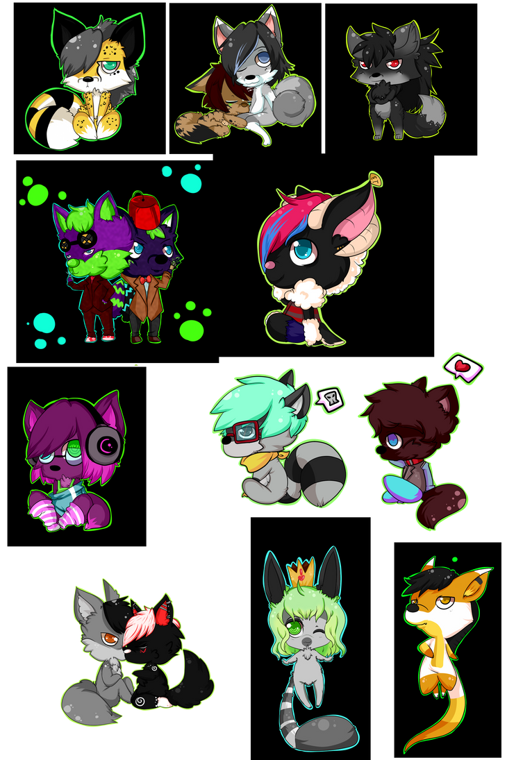 Fluffy collection 1 by SheriffGraham
