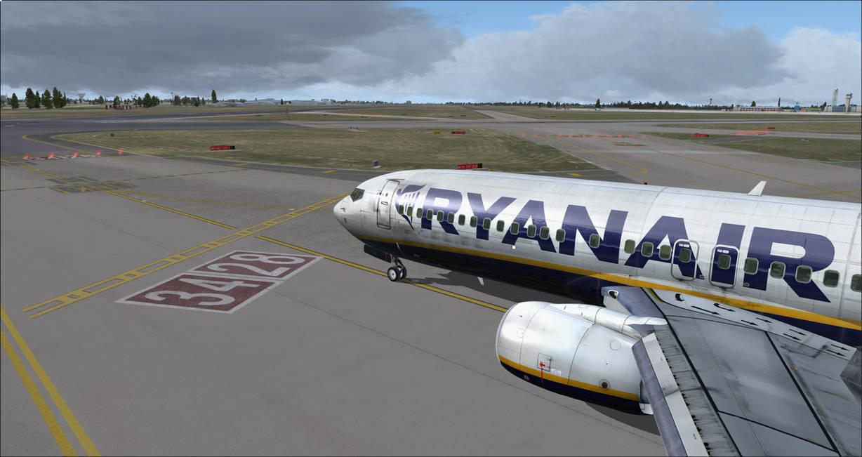 Ryanair 737-800 at Dublin FSX by miniarma on DeviantArt