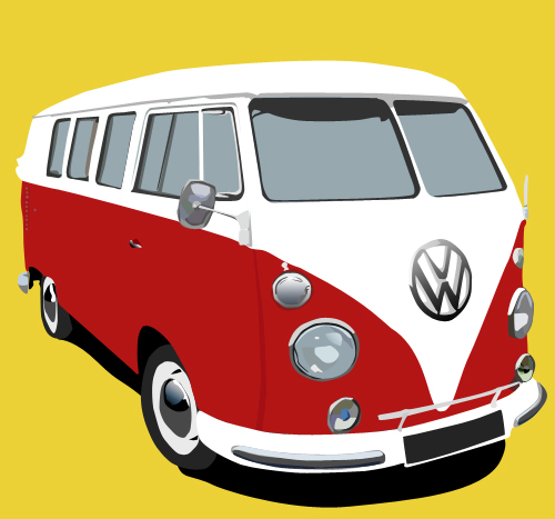 VW Campervan By Yugan