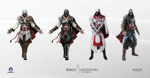 Ezio Auditore Assassins Creed by arturosoft